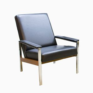 Vintage Industrial Armchair from J. Mertens