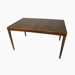 Mid-Century Rosewood Dining Table by H. W. Klein for Bramin