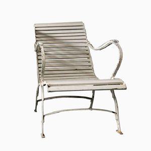 Vintage Cast Iron Garden Chair