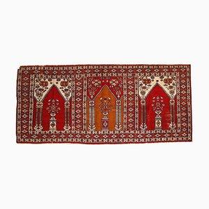 Tapis de Prière Vintage Fait Main, Turquie, 1960s