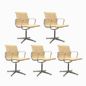 Aluminium Chairs by Charles & Ray Eames for Herman Miller, 1970s, Set of 5
