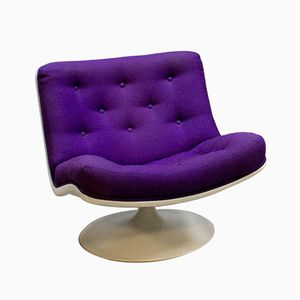 Vintage F978 Swivel Chair by Geoffrey Harcourt for Artifort