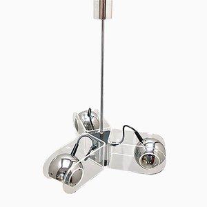 Italienische Vintage Modell 540 Deckenlampe von Gino Sarfatti für Arteluce
