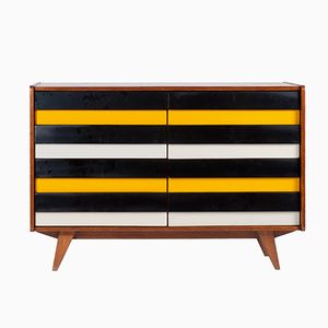 Mid-Century U-450 Chest of Drawers by Jiri Jiroutek for Interier Praha