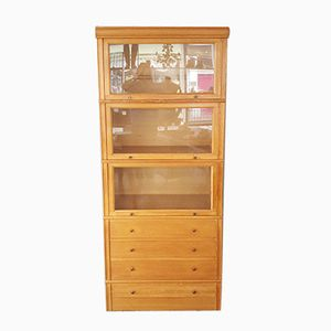 Vintage French Stacking Haberdashery Cabinet