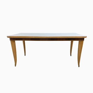 Italian Beech and Maple Dining Table, 1950s