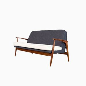 Mod. 401 Sofa by Ib Kofod Larsen for Slagelse, 1950s