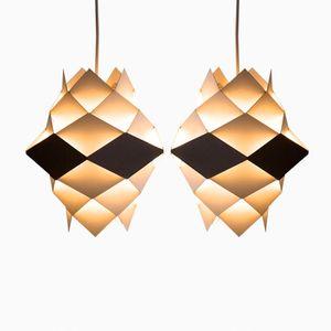 Lampe à Suspension Vintage par Preben Dahl