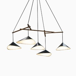 Emily Group of Five Pendant by Daniel Becker
