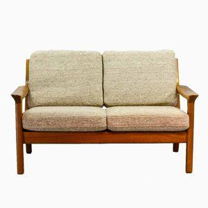 2-Sitzer Teak Sofa von Juul Kristensen für Glostrup, 1960er