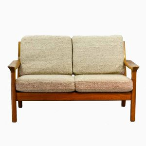 Teak Two-Seater Sofa by Juul Kristensen for Glostrup, 1960s
