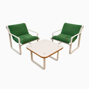 Vintage Lounge Set by Hannah & Morrison for Knoll