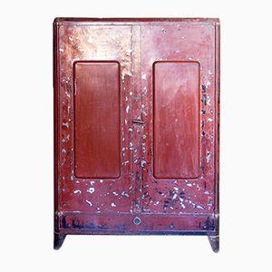 Industrial Steel Cabinet, 1930s