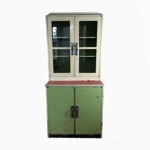 Mid-Century Post War Steel Medical Cabinet