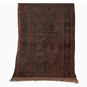 Antique Timuri Carpet with Triple Borders
