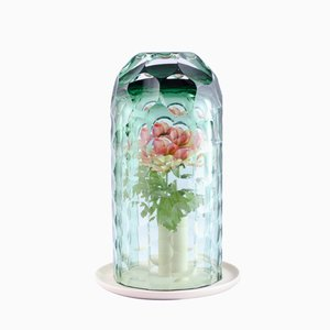 Medium Green OP-Vase by Bilge Nur Saltik, 2017