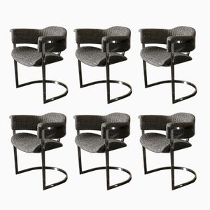 Chaises de Salon, Italie, 1970s, Set de 6