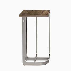 Stainless Steel Mondrian Side Table 27 x 27