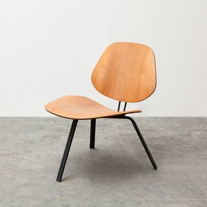 P31 Chair - Teak Low by Osvaldo Borsani