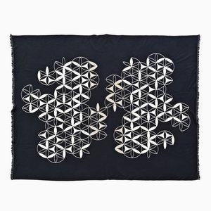 Circles By Compass Blanket di Roberta Licini