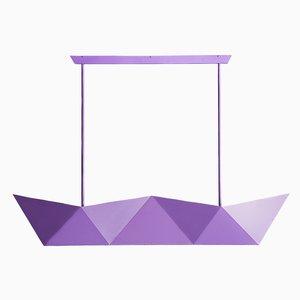 Lampe Suspendue Deriva Pearl Hanging Lamp Violet par Alessandro Mendini