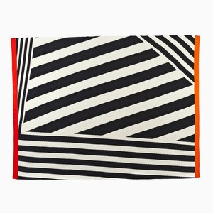 Diagonal Bands Blanket by Roberta Licini