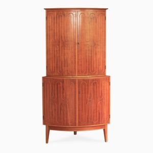 Rare Teak Corner Cupboard by David Rosén