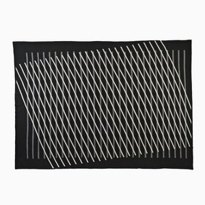 Optical Lines Blanket by Roberta Licini