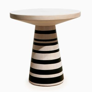 Thuthu Stool with Stripes by Patty Johnson