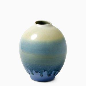 Vase Bleu et Blanc N°1 par Tortus Copenhagen