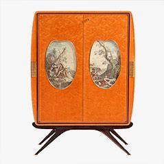 Bar Cabinet by Osvaldo Borsani