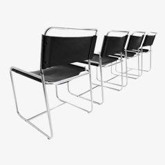 SE18 Esszimmerstühle von Claire Bataille und Paul Ibens für 't Spectrum, 1971, 4er Set