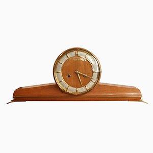 Mid-Century Kaminsims Uhr von Junghans