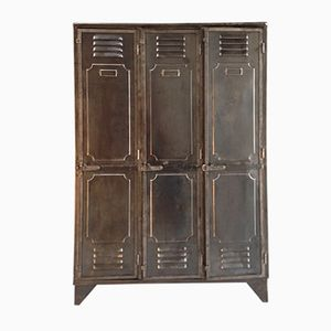 Industrial Cloakroom Locker, 1940s