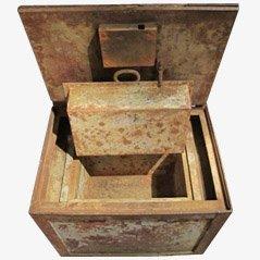 Vintage Industrial Safe