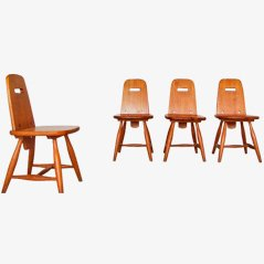 Pirtti Dinnerchairs by Eero Aarnio for Laukaan Puu, Set of 4