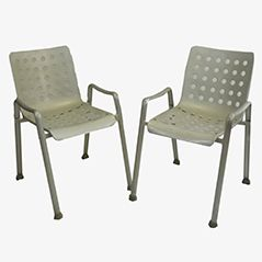 Landi Chairs by Hans Coray for MEWA, Set of 2