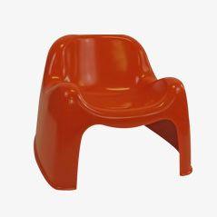 Toga Lounge Chair von Sergio Mazza für Artemide