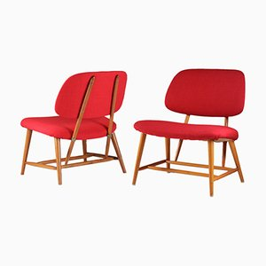 Easy Chairs by Alf Svensson for Bra Bohag, Set of 2
