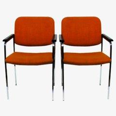 Vintage Stühle von Thonet, 1970er, 2er Set