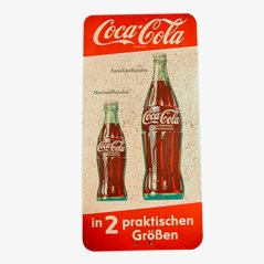 Vintage Coca Cola Advertising Sign, 1950s