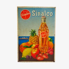 Industrial Sinalco Plate Sign