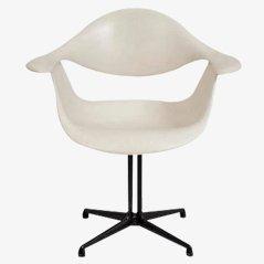 Weißer Stuhl von George Nelson für Herman Miller