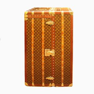 Vintage Large Wardrobe Steamer Trunk from Louis Vuitton