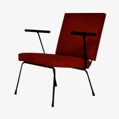 Roter Sessel von Wim Rietveld für Gispen