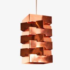 Pendant Lamp by J.J.M. Hoogervorst for Anvia, 1950s
