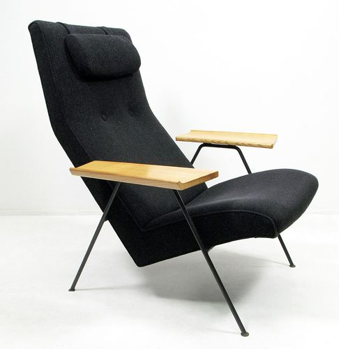reclining chair by robin day for hilfe 1950s for sale at pamono