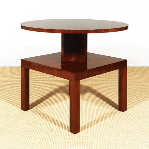 French Art Deco Cubist Side Table 1930s For Sale At Pamono