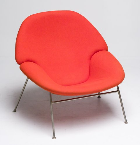 Vintage f555 lounge chair by pierre paulin for artifort for Artifort chaise lounge