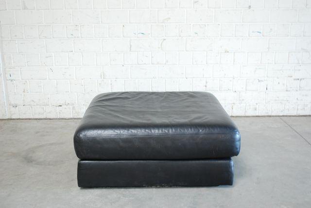 schwarzes ausklappbares vintage ds 76 leder sitzkissen von de sede bei pamono kaufen. Black Bedroom Furniture Sets. Home Design Ideas
